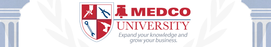 MEDCO University - Expand your knowledge and grow your business.